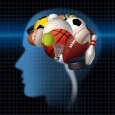 27658795-sport-psychology-concept-as-a-group-of-sports-equipment-shaped-as-a-human-brain-as-a-mental-health-s